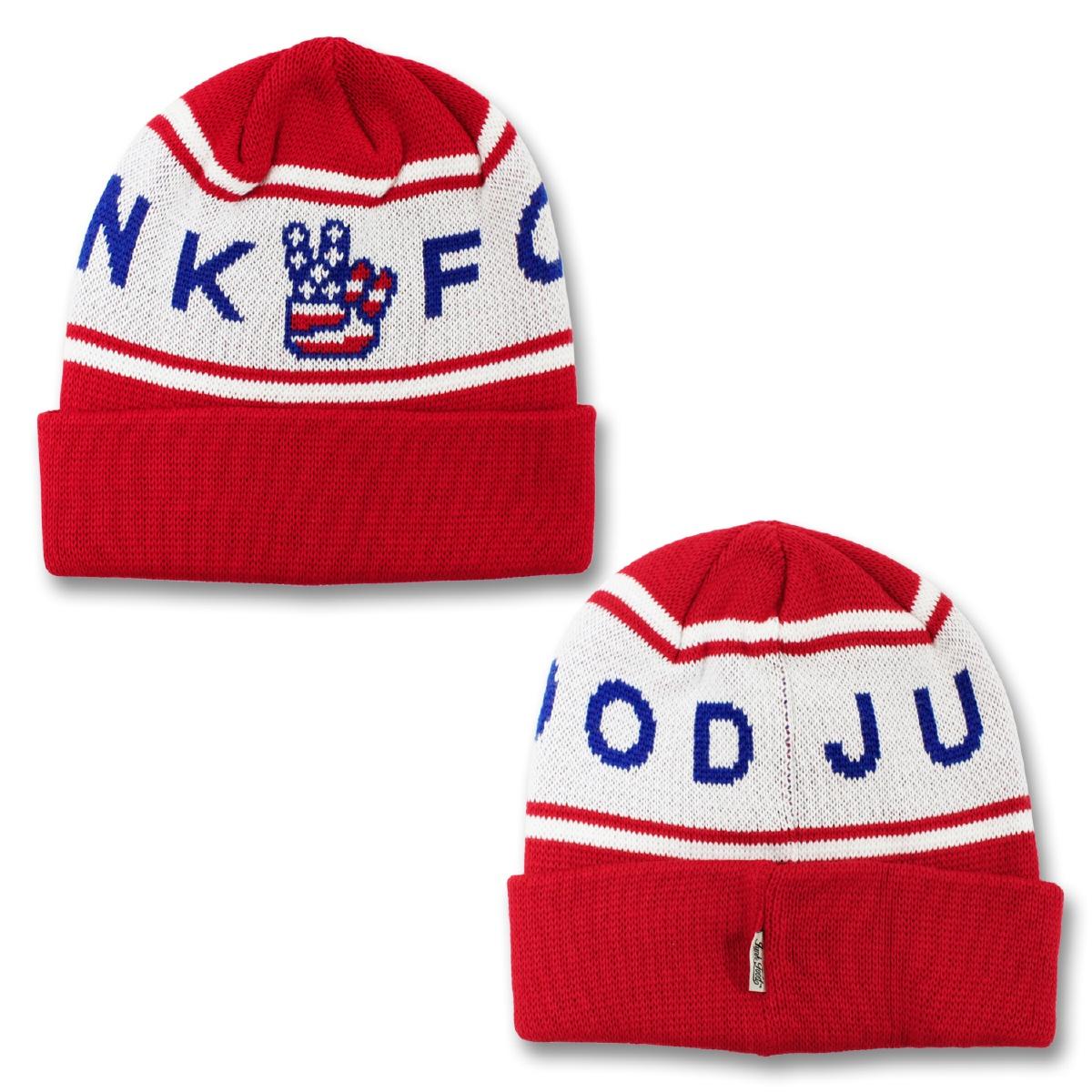 JUNK FOOD ジャンクフード JACQUARD KNIT CAP