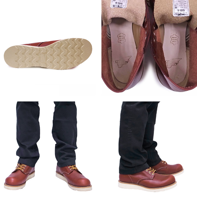 RED WING レッドウィング 6INCH ROUND TOE BOOTS Dワイズ