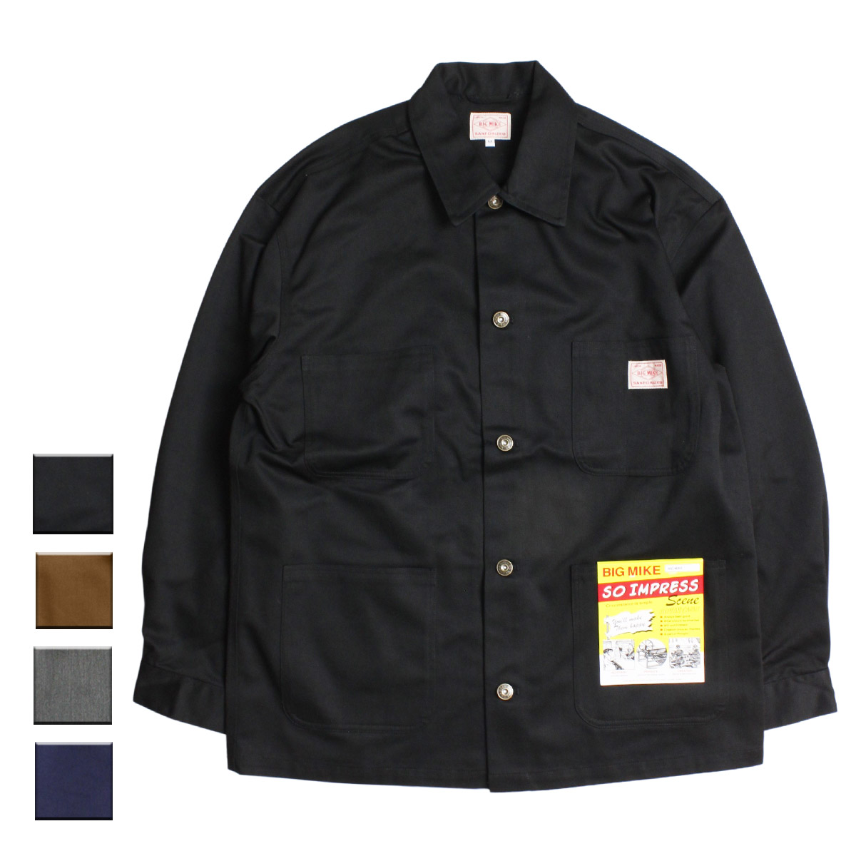 BIG MIKE ビッグマイク CHINO COVERALL
