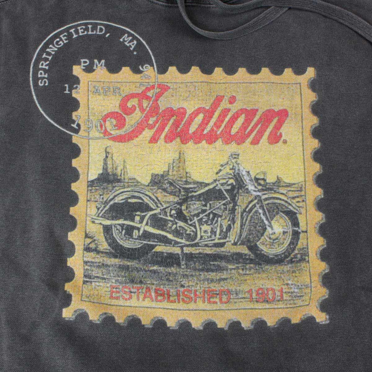 Indian インディアン Vintage pullover parker stamp