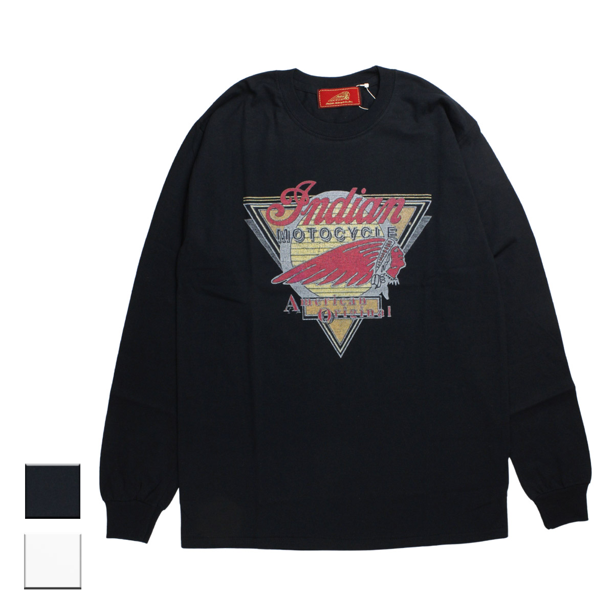 Indian インディアン the Indian is Back L/S-T American Original