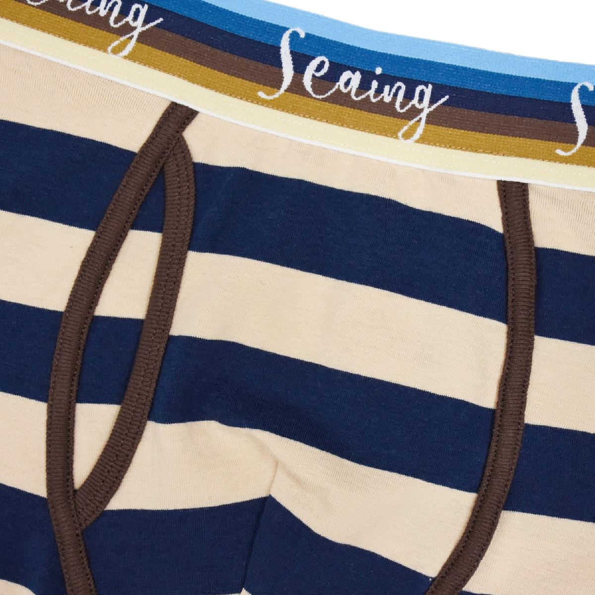 Seaing シーング ボクサーパンツ SURF BORDER