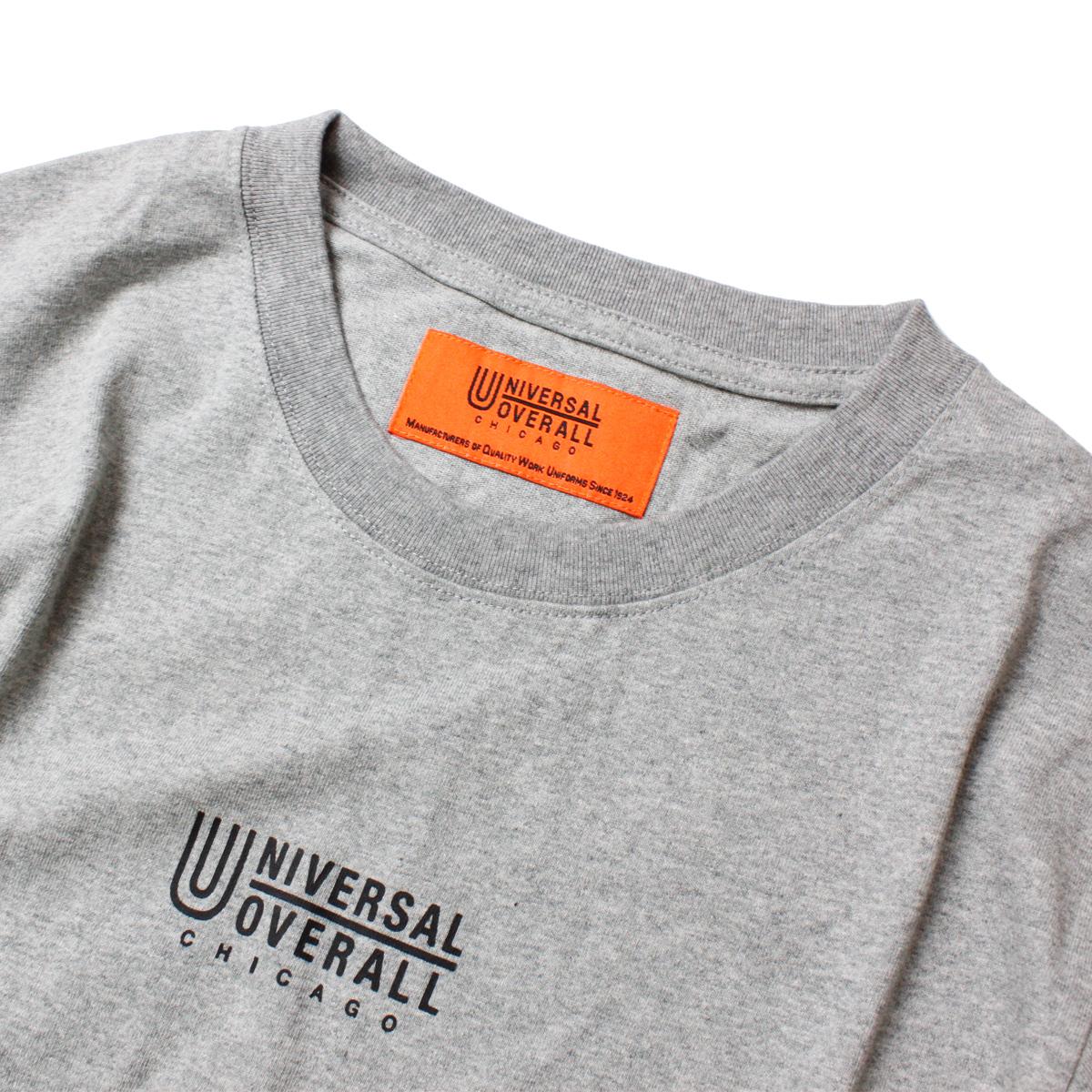 UNIVERSAL OVERALL ユニバーサルオーバーオール LOGO L/S TEE