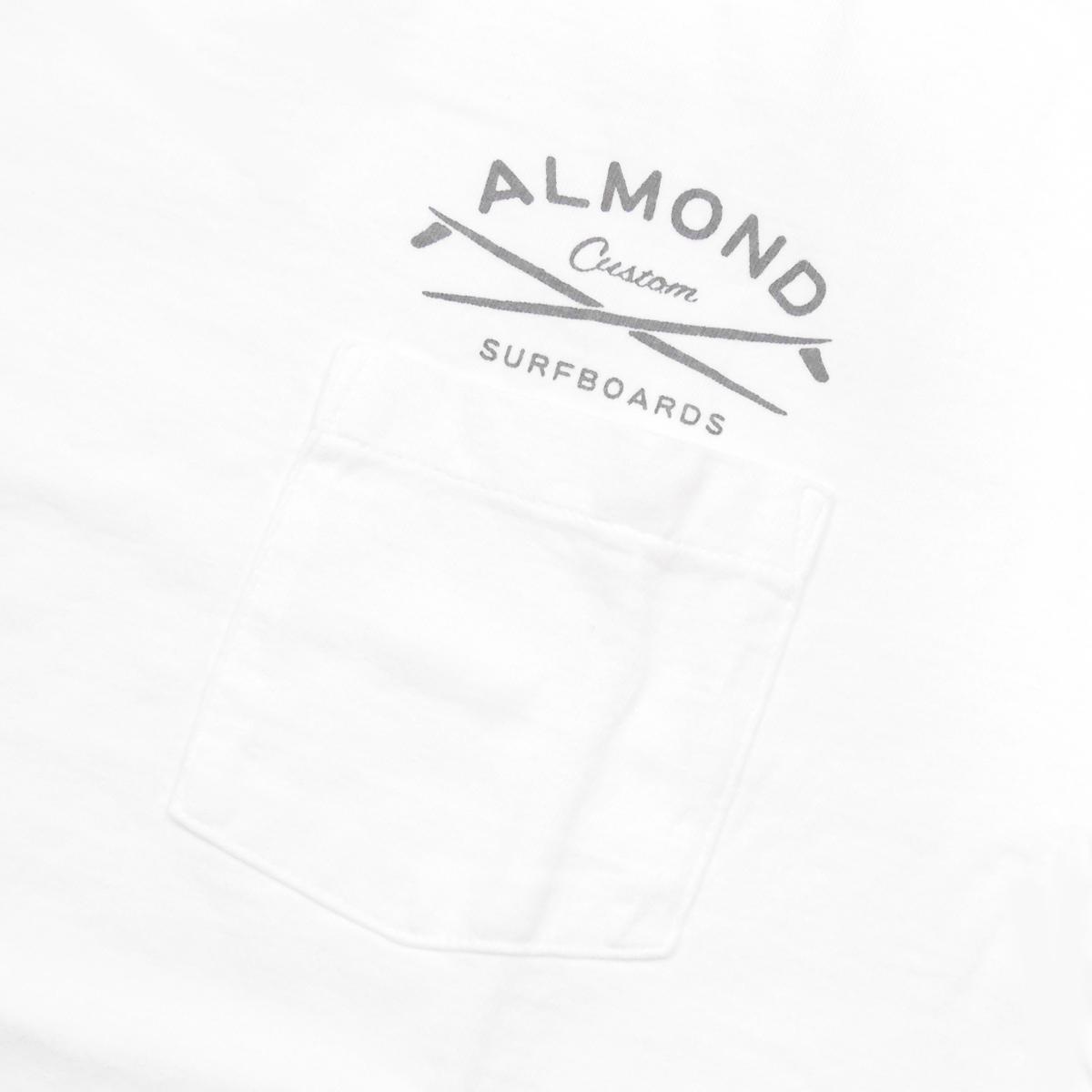 Almond Surf アーモンドサーフボードデザイン GRAVEL PK