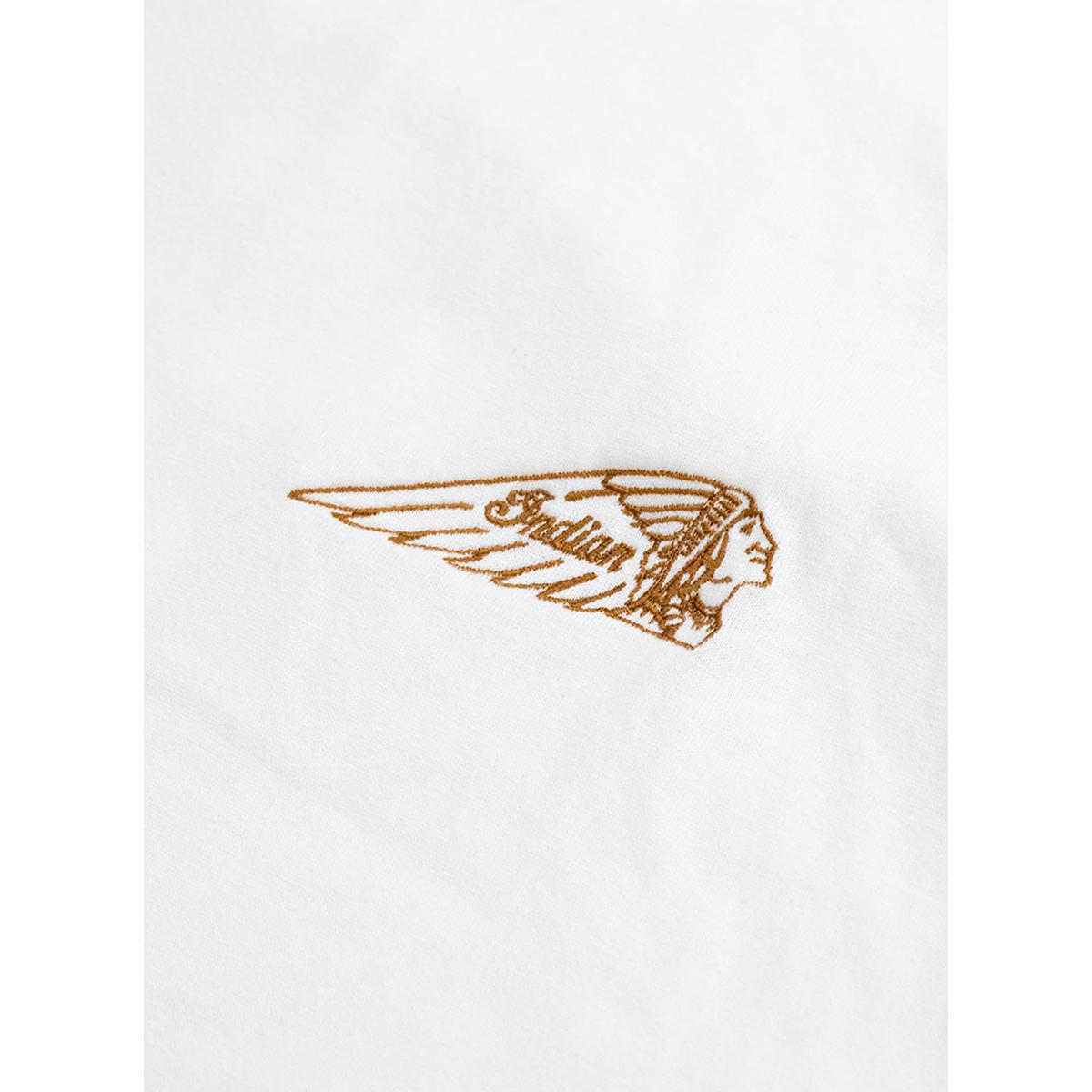 Indian インディアン Indian Basic S/S T-shirt Headmark Logo