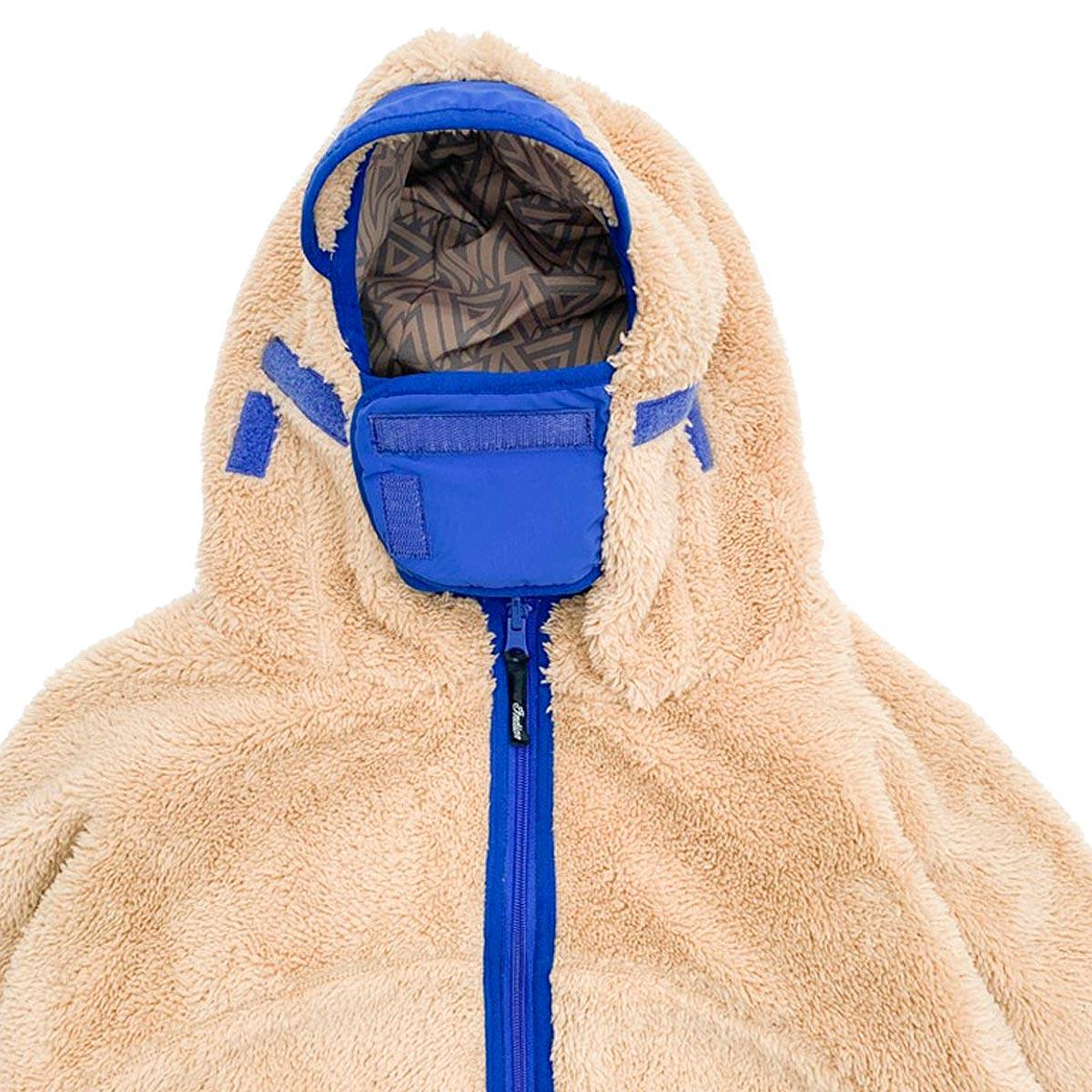 Indian インディアン Reversible Rabbit Fleece Hoody