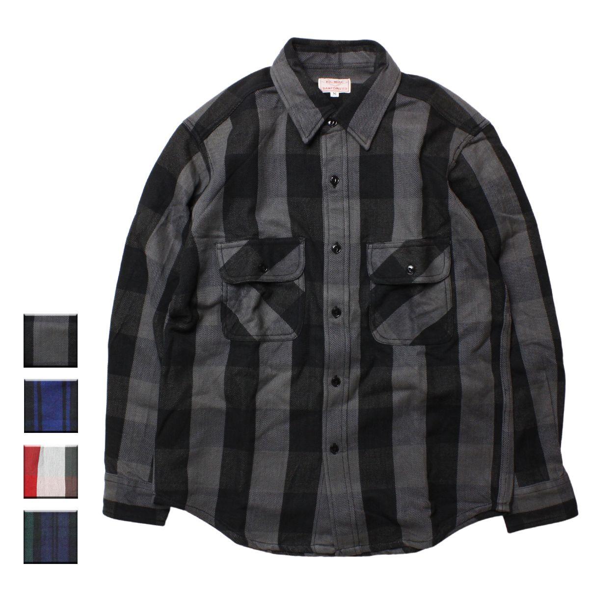 BIG MIKE ビッグマイク ヘビーチェックネルシャツ