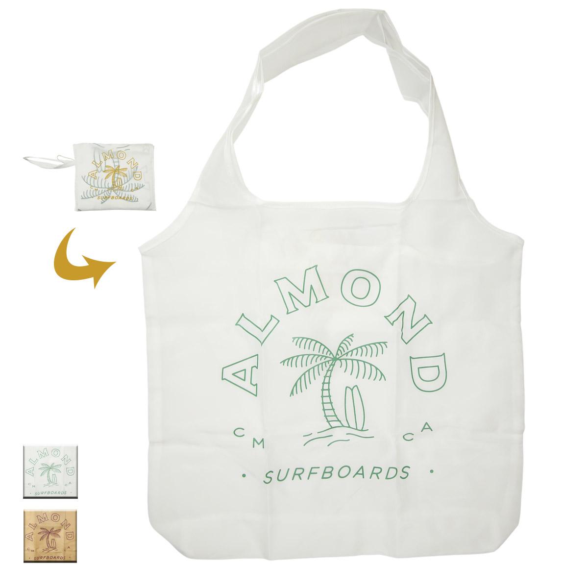 Almond Surf アーモンドサーフボードデザイン ECO BAG
