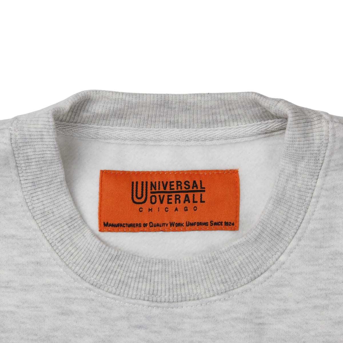 UNIVERSAL OVERALL ユニバーサルオーバーオール SWEAT SHIRT