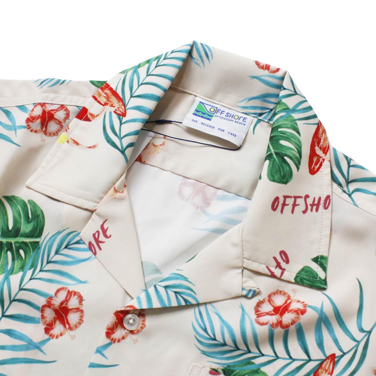 OFFSHORE オフショア SURF ALOHA SHIRT