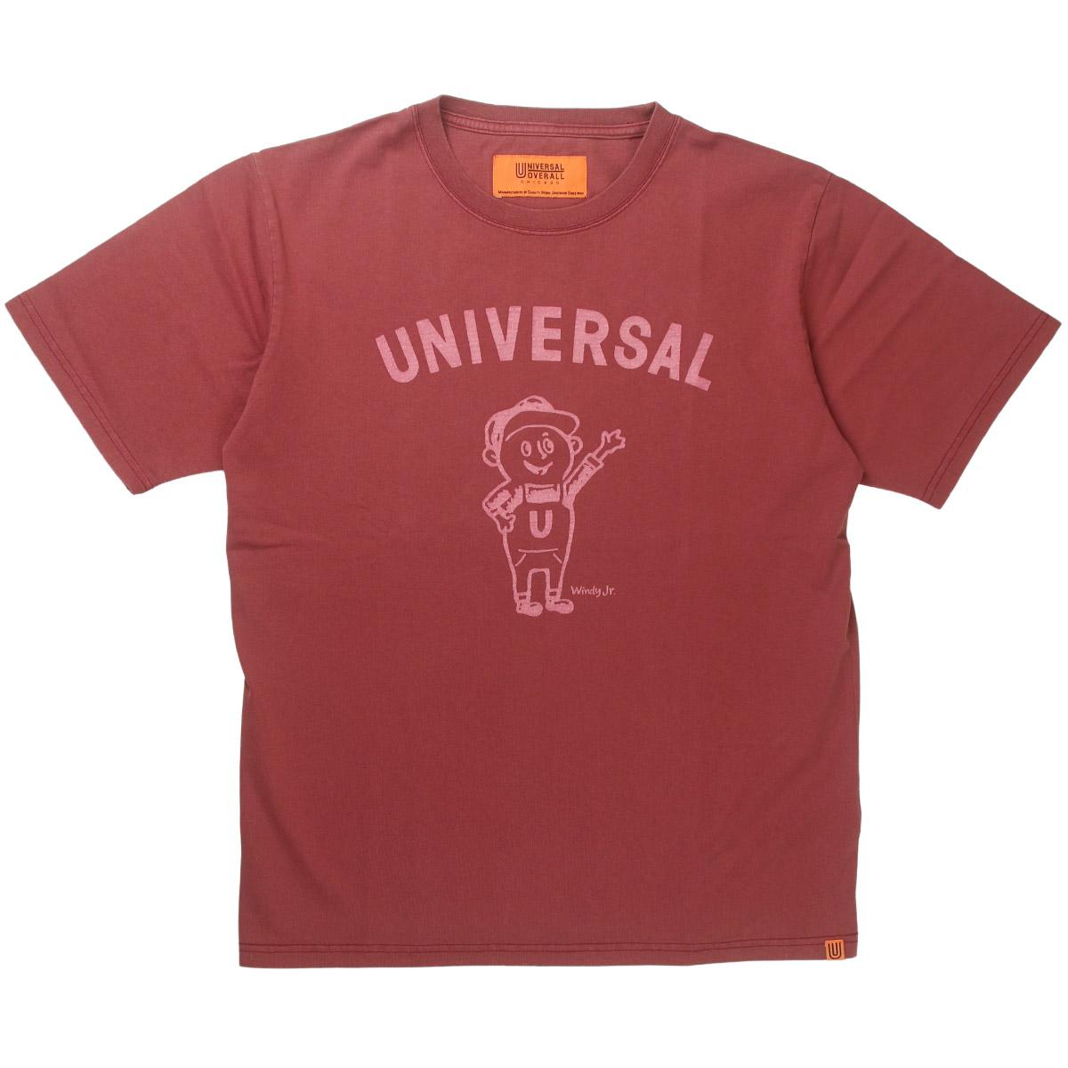 UNIVERSAL OVERALL ユニバーサルオーバーオール WINDY JR.TEE