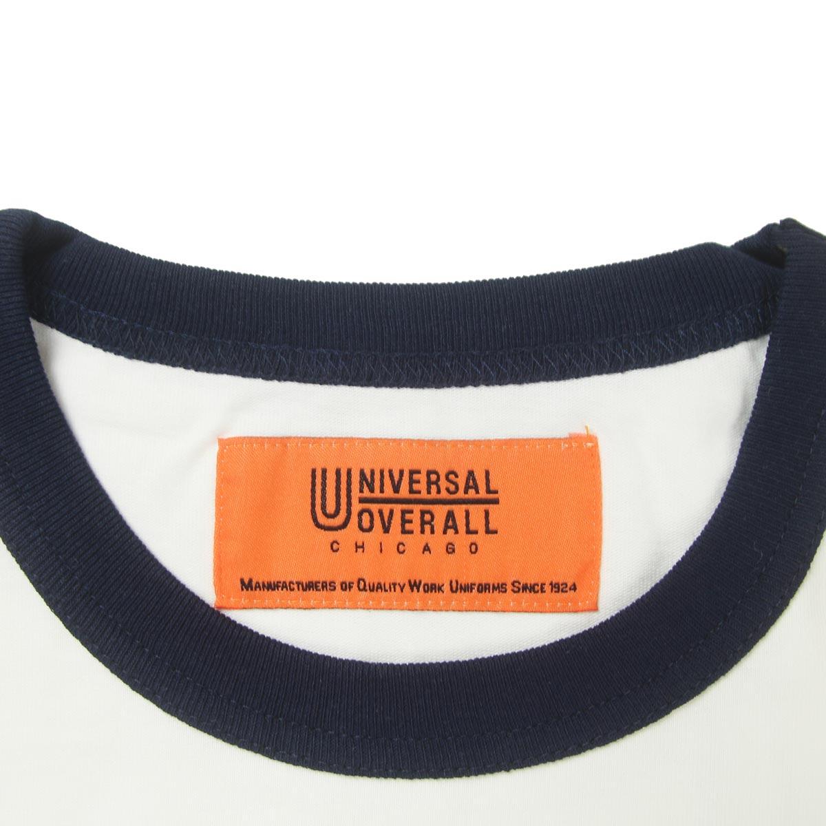 UNIVERSAL OVERALL ユニバーサルオーバーオール RINGER TEE
