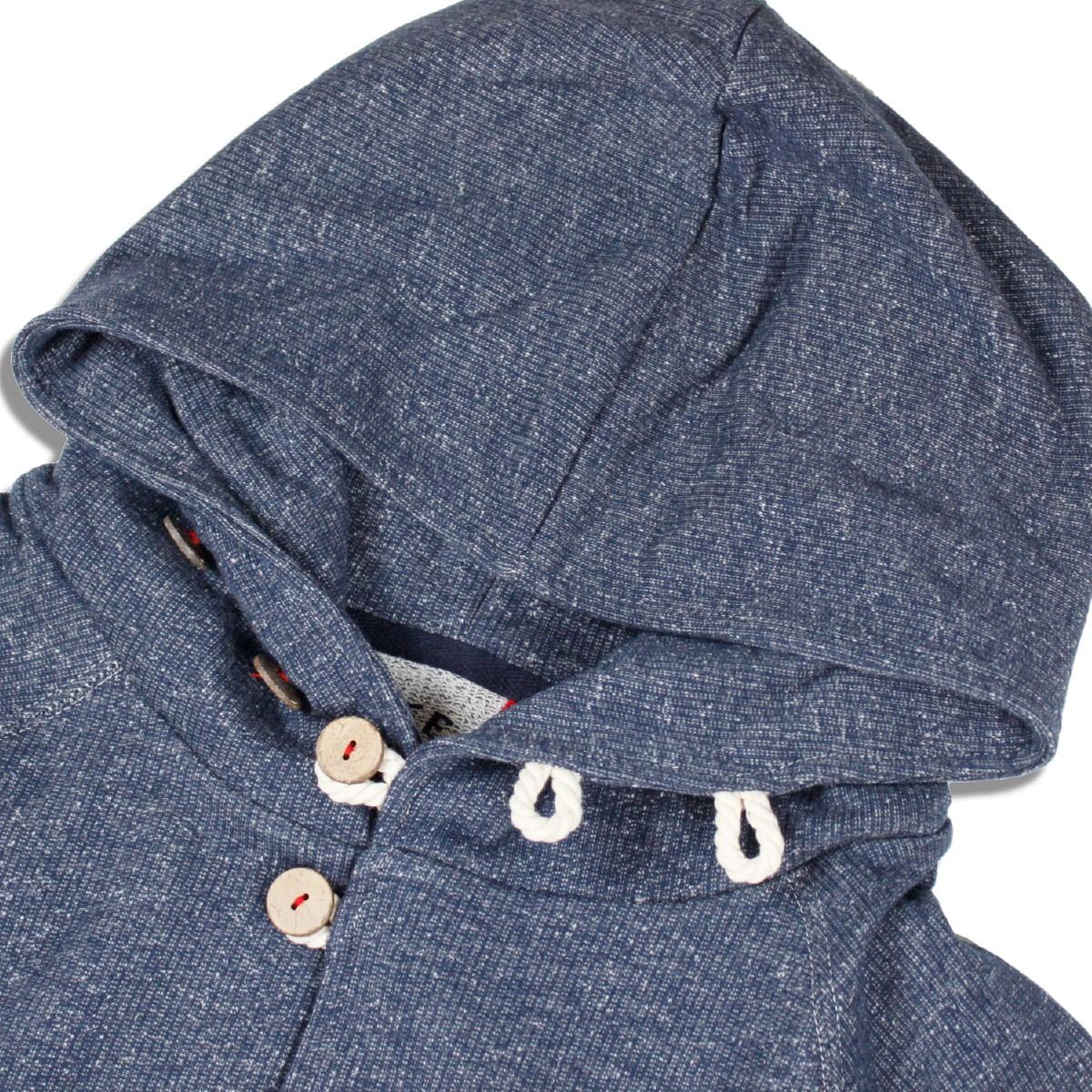 feel so easy good things for relaxing / FEEL GOOD フィールグッド melange sweat hooded cardigan