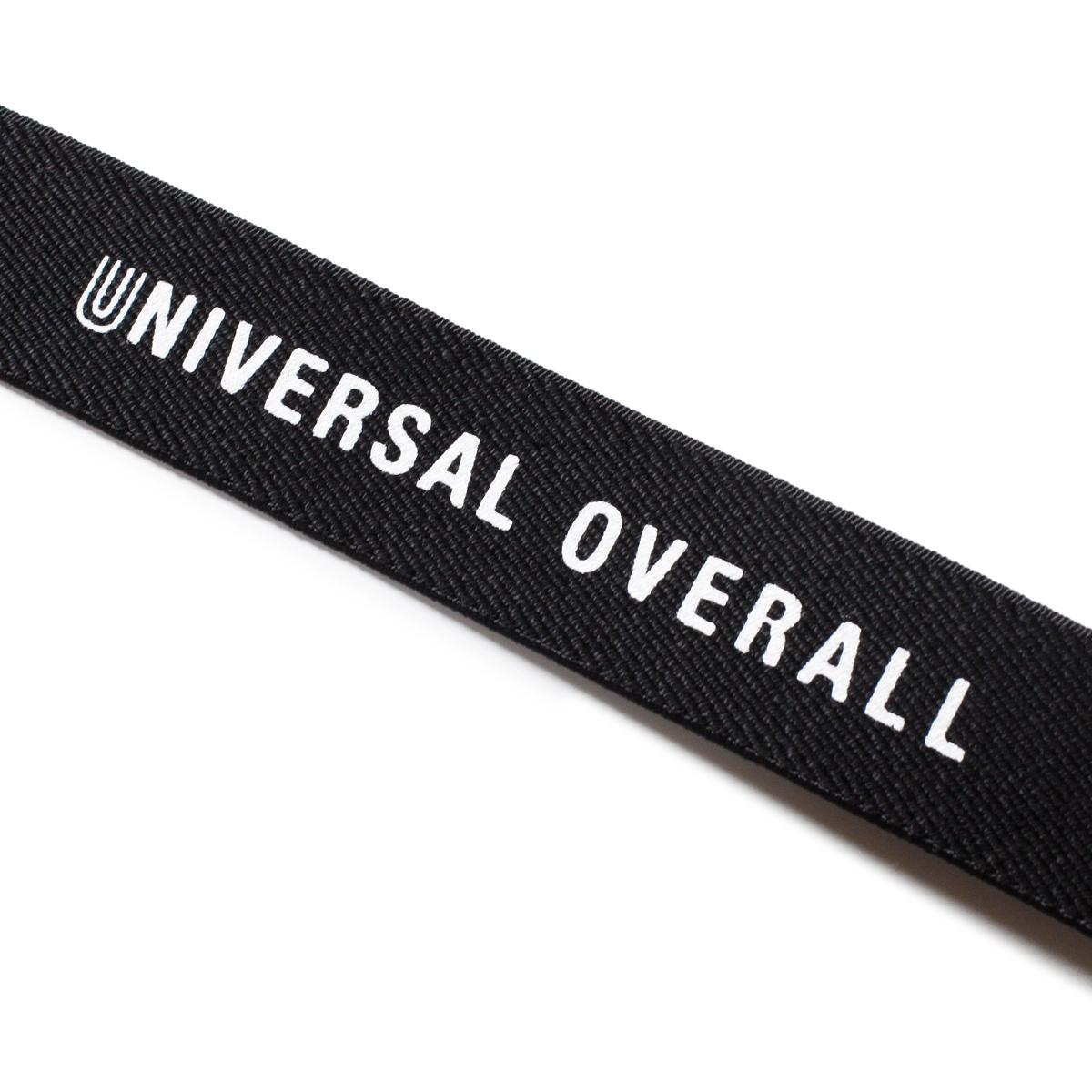 UNIVERSAL OVERALL ユニバーサルオーバーオール ロゴプリントサスペンダー