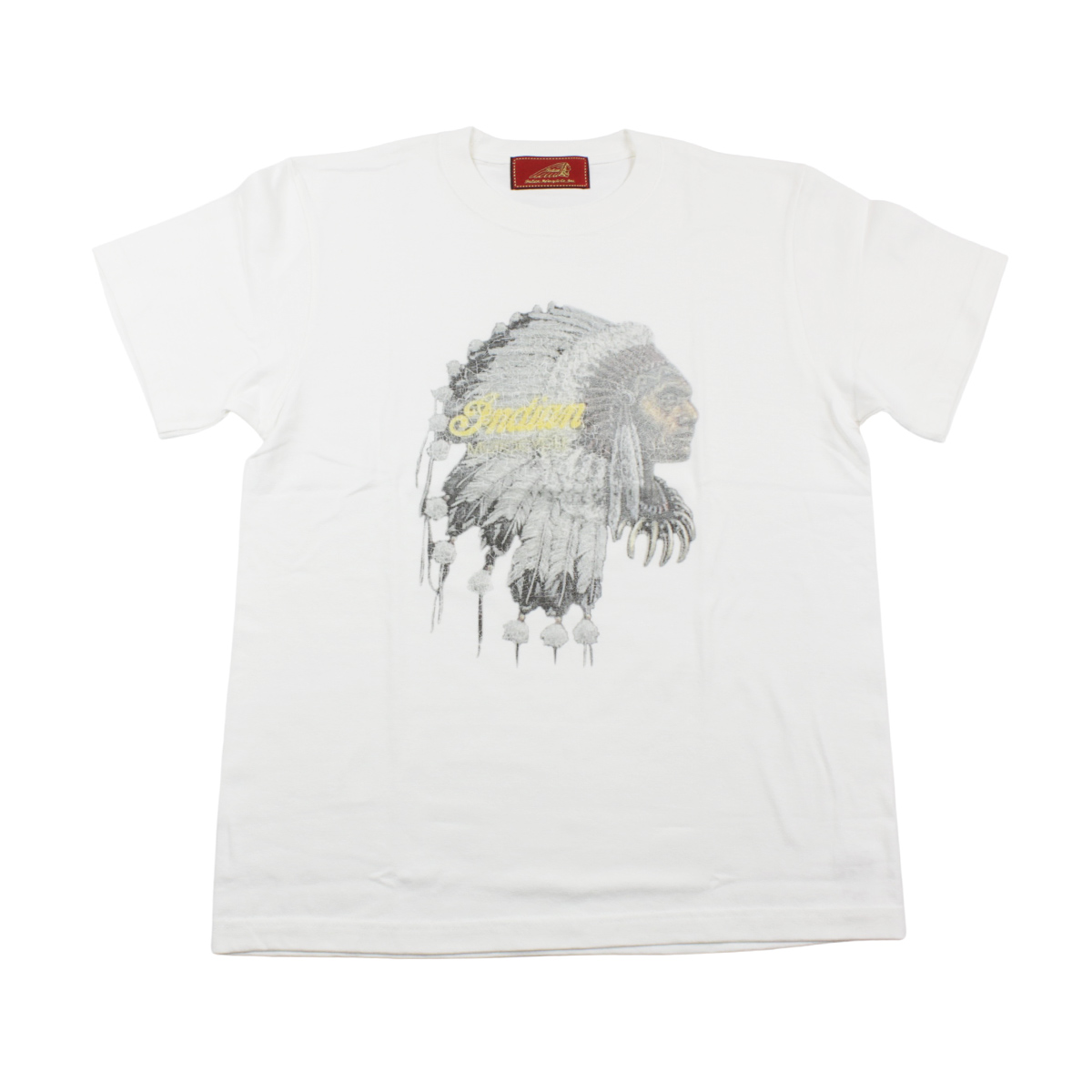 Indian インディアン The Indian is Back Tee War bonnet
