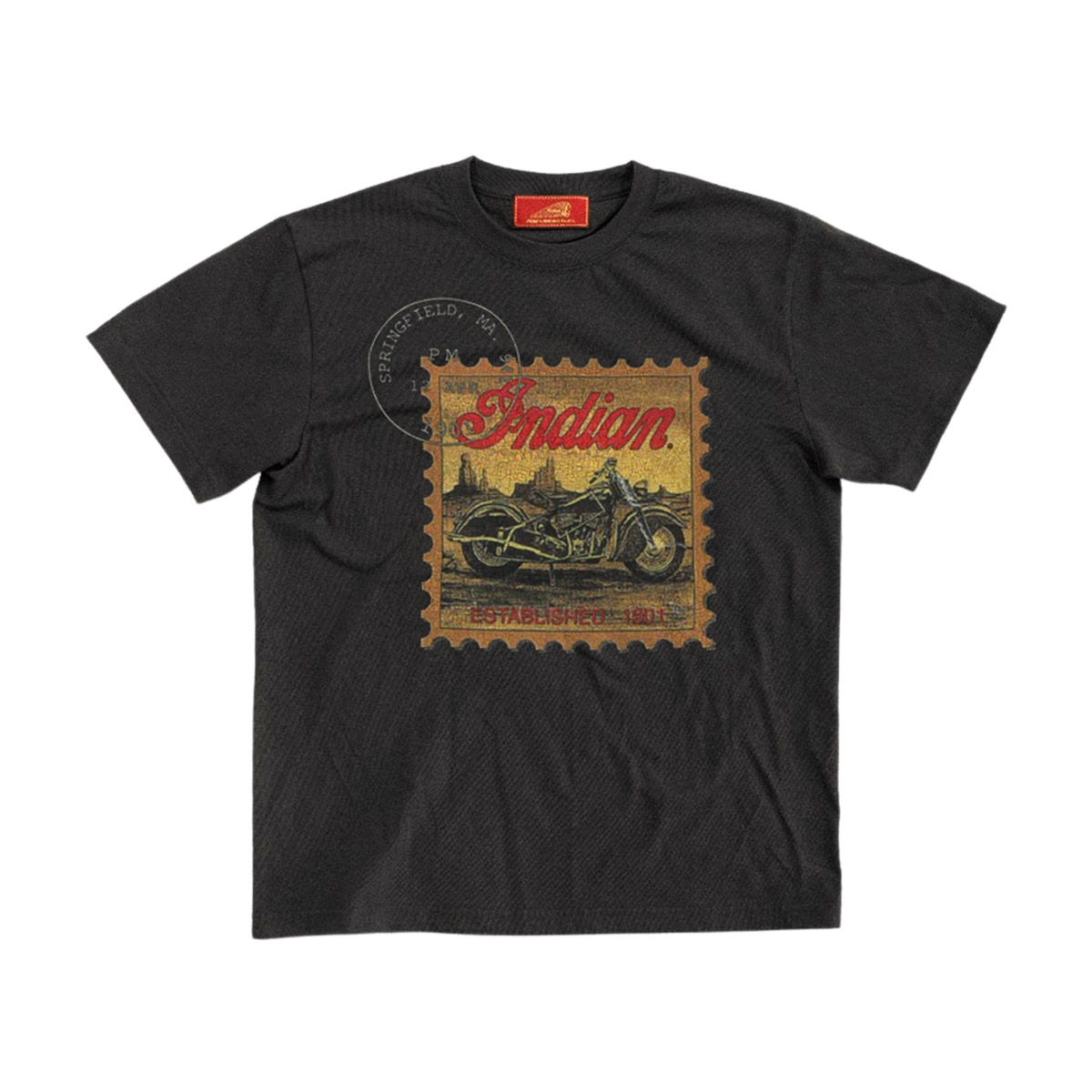 Indian インディアン The Indian is Back Tee Stamp