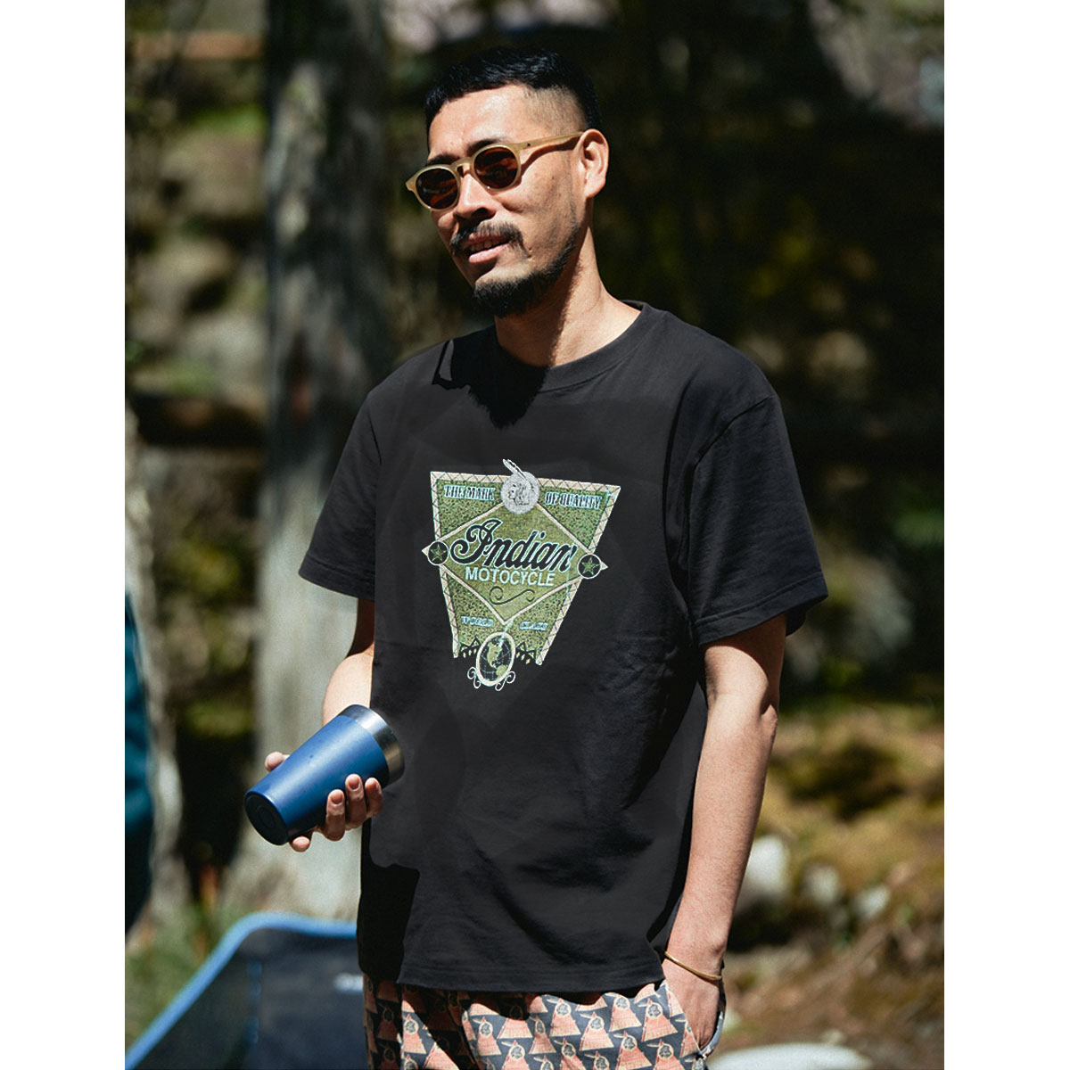 Indian インディアン The Indian is Back Tee WORLD CLASS