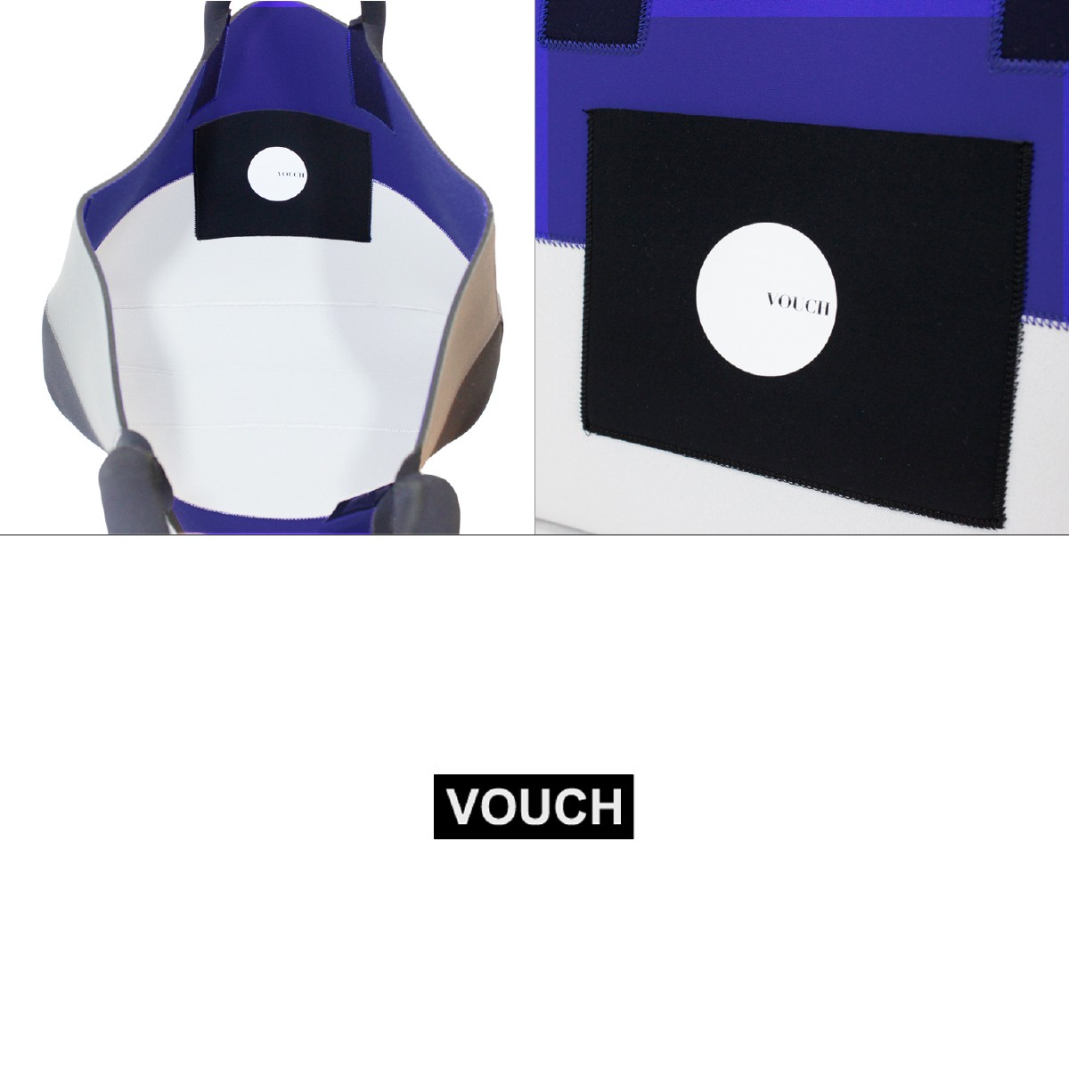 【50%OFF】VOUCH バウチ ウェットトートバッグ