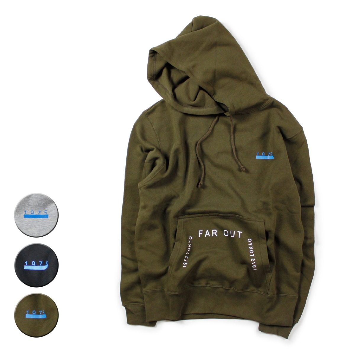 1975 TOKYO 1975トーキョー FAR OUT P/O HOODIE