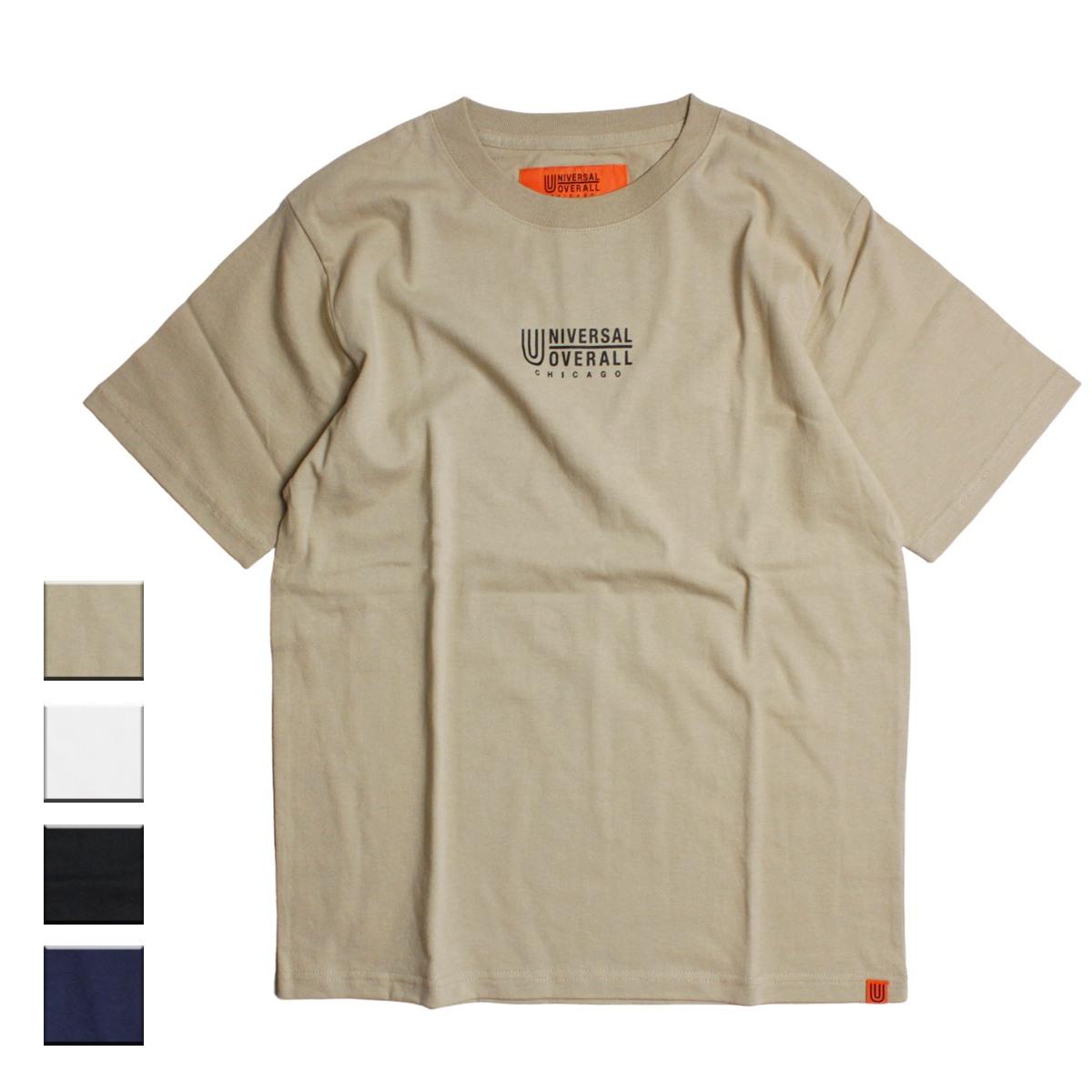 UNIVERSAL OVERALL ユニバーサルオーバーオール UO LOGO Tシャツ