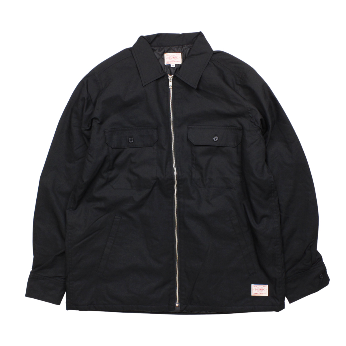 BIG MIKE ビッグマイク ZIP SHIRT OUTER