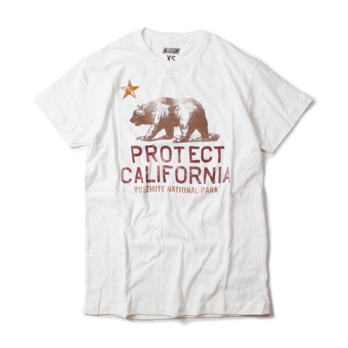 TAILGATE テイルゲート PROTECT CALIFORNIA Tシャツ