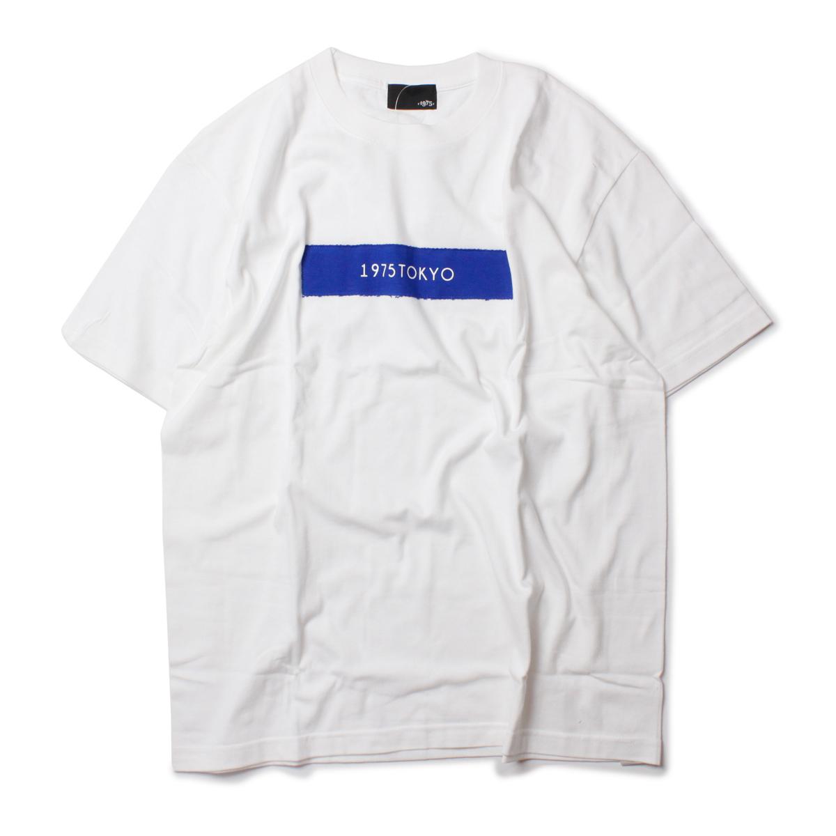 1975 TOKYO 1975トーキョー ボックスロゴTシャツ
