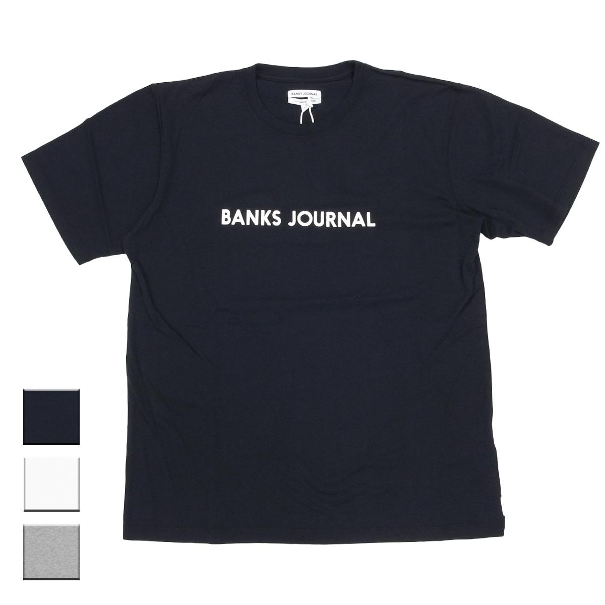 BANKS バンクス LABEL PRIMARY TEE