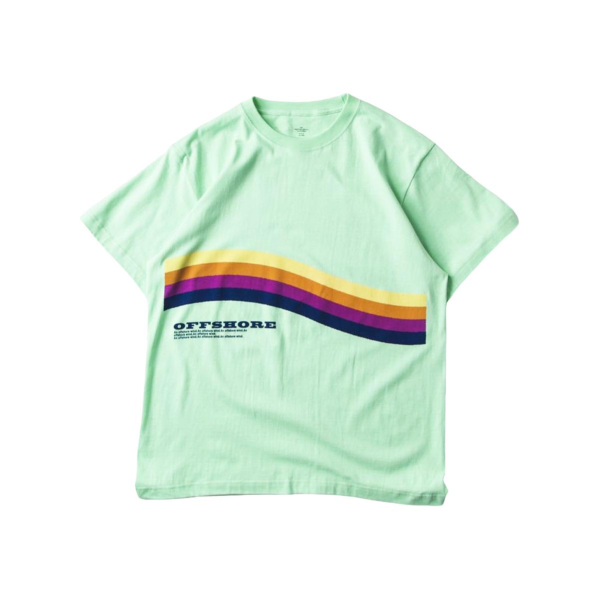 OFFSHORE オフショア RAINBOW SURF TEE