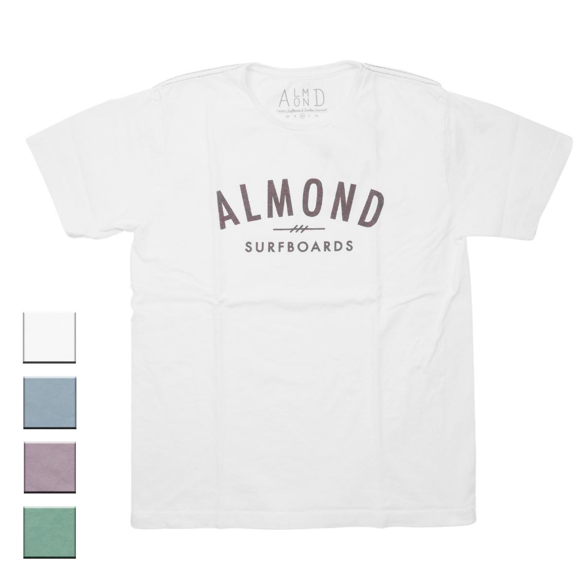 Almond Surf アーモンドサーフボードデザイン FINESURFING S/S TEE
