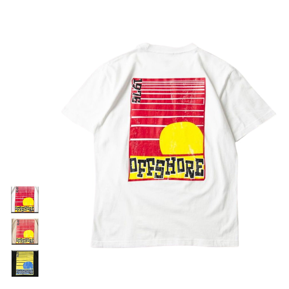 OFFSHORE オフショア OFFSHORE SUNSET TEE