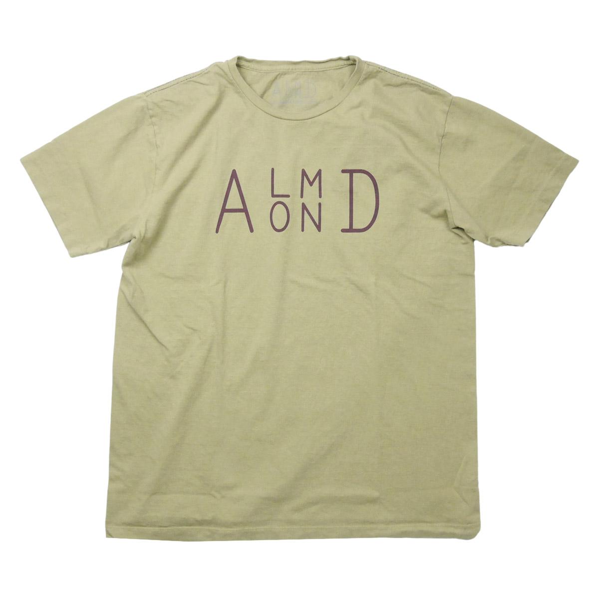 Almond Surf アーモンドサーフボードデザイン SIDESTACK S/S TEE