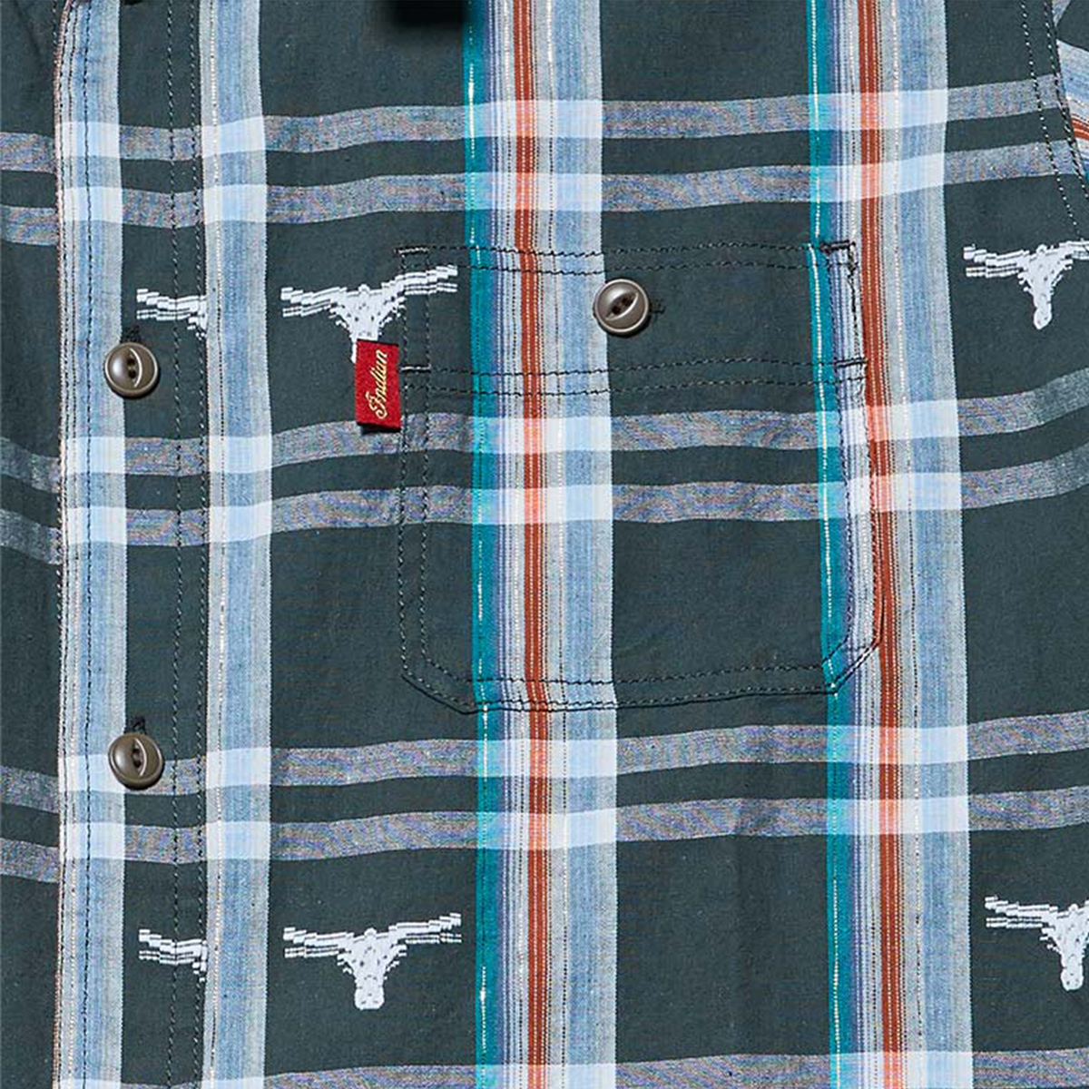 Indian インディアン バッファロードビーチェック ワークシャツ