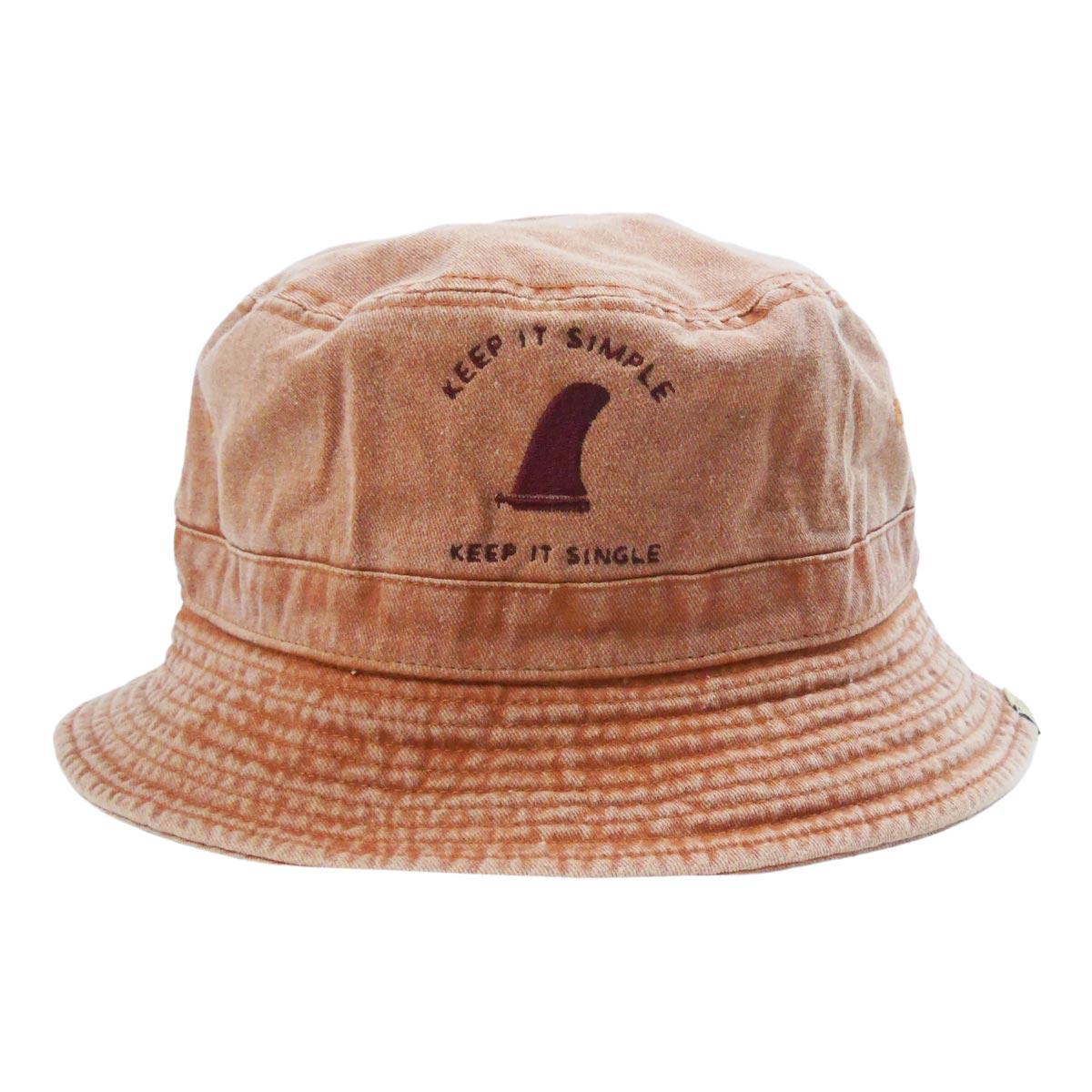 Almond Surf アーモンドサーフボードデザイン KEEP IT SIMPLE BUCKET HAT