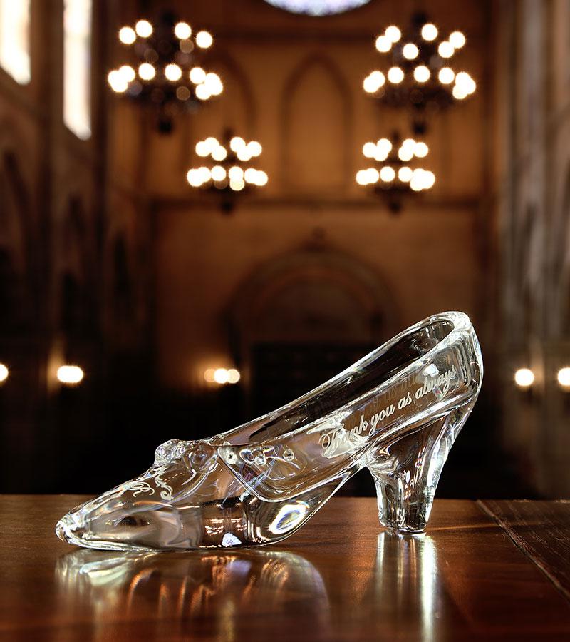 リングピロー/ガラスの靴