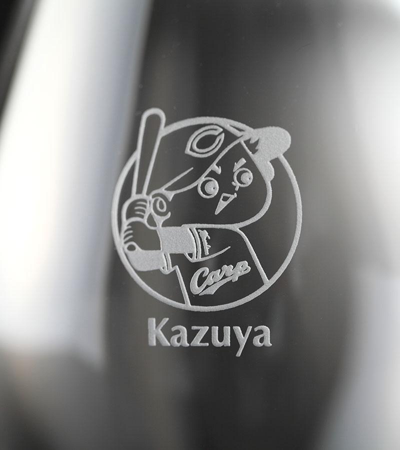 カープ・プレミアムワイングラス/ペア