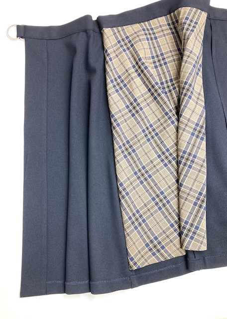 【artpepper】チェック柄レイヤードスカート