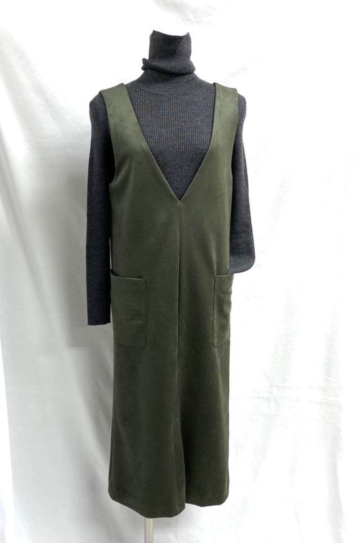 エコスェード ジャンパースカート