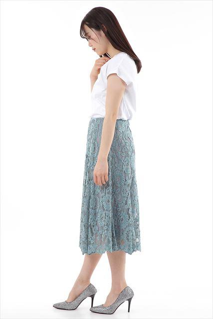 モールレーススカート