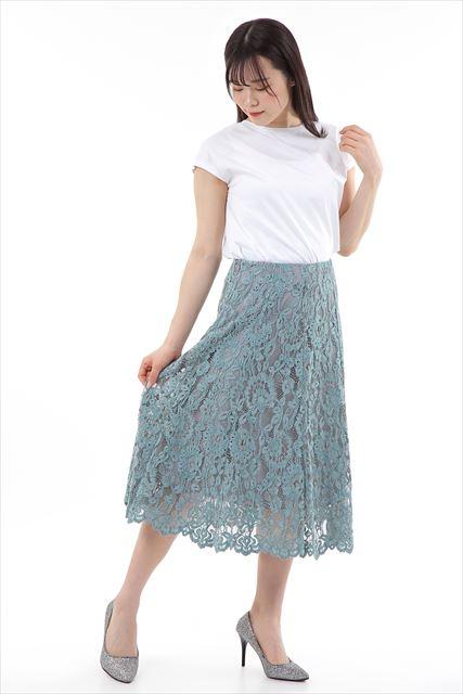 【steeplechase】 モールレーススカート