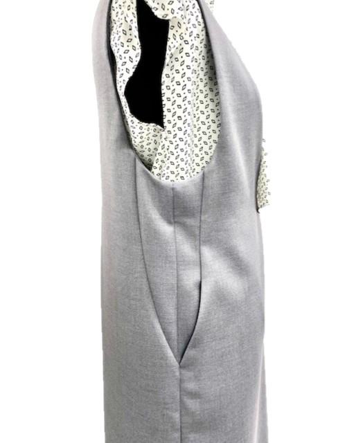 ダブルクロスジャンパースカート