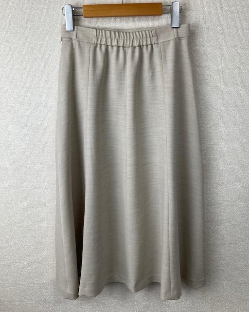 麻ライクフレアースカート