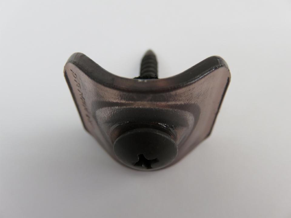 5×35 波座セット ポリカ ブロンズ色 トラス頭 木下地・アルミ(1.5mm厚まで)兼用 鉄板小波用 100セット/箱
