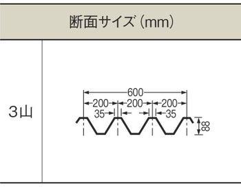 1.5mm厚 Y600(3山) 透明 耐候グレード タキロンシーアイ ポリカ折板 150cm〜1,200cm