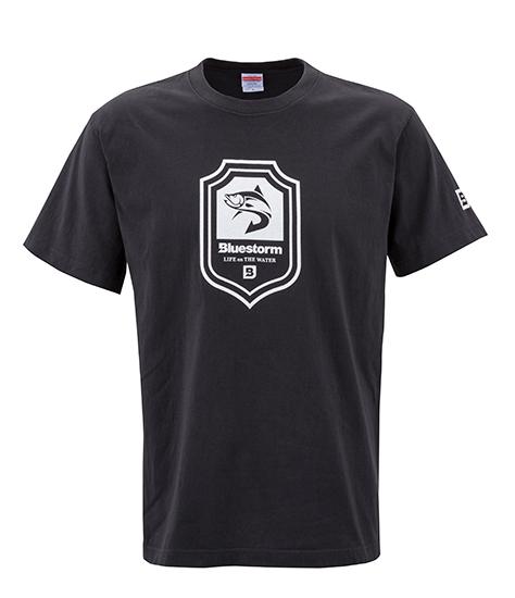 BLUESTORM シールド Tシャツ