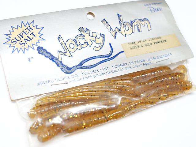 JAWTEC/Bruce Wacky Worm (ワッキーワーム) 4インチ