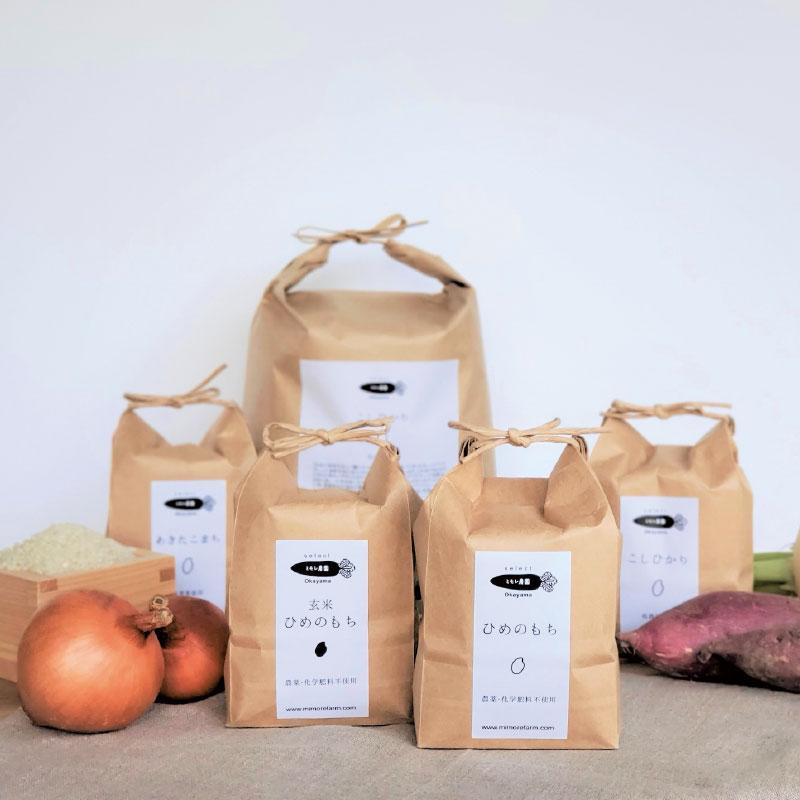 ミモレ農園セレクト 玄米ひめのもち 3kg