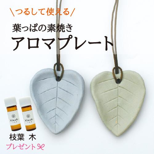 【森の舞夢】 手作り アロマプレート [B]カラーセット 2枚セット ひのき精油プレゼント♪ 【ゆうパケット対応】