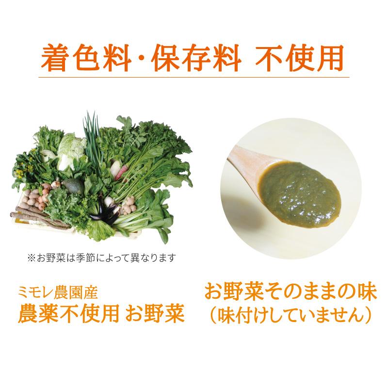 繊維を食べる お野菜ペースト 400g 【無添加・手作り】 【ミモレ農園マルシェ】