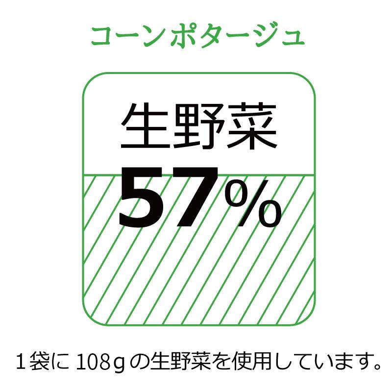 お野菜を食べるスープ コーンポタージュ 5袋 【ミモレ農園マルシェ】
